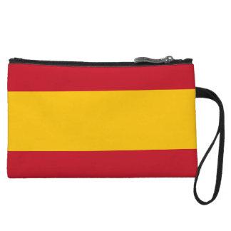 Cartera de los mitones de la bandera de España