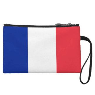 Cartera de los mitones de la bandera de Francia