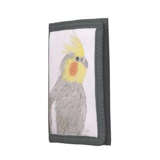 Cartera del arte del Cockatiel