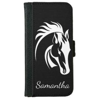 Cartera hermosa del iPhone del diseño del caballo