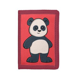 Cartera linda de la panda del dibujo animado