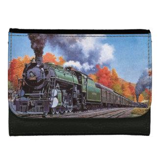 Cartera Para Mujer Locomotora de vapor