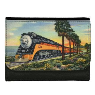 Cartera Para Mujer Locomotora de vapor de Daylighter