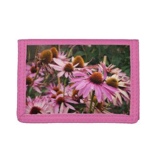 Cartera púrpura de la flor del cono