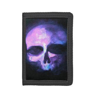 Cartera púrpura del cráneo