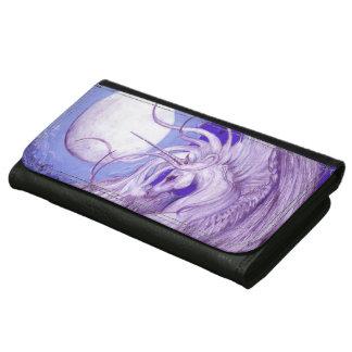 Cartera púrpura del unicornio