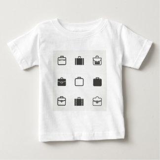 Cartera un icono camiseta de bebé