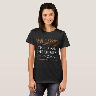 Cartero el ídolo la reina la camiseta de la mujer
