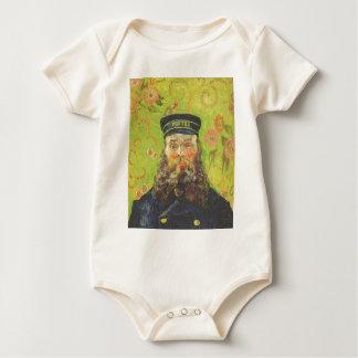 Cartero José Roulin - Vincent van Gogh del retrato Body Para Bebé
