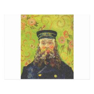 Cartero José Roulin - Vincent van Gogh del retrato Postal