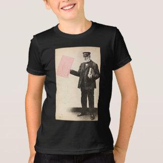 Cartero romántico del vintage camiseta