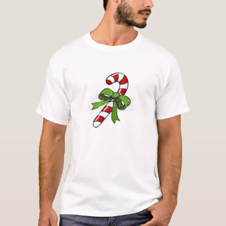 cartoon-candy-cane-1031 camiseta