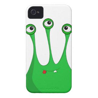 Cartoon Green alien