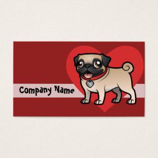 Cartoonize mi mascota tarjeta de negocios