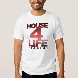 Casa 4 hombres de los expedientes de la vida camiseta