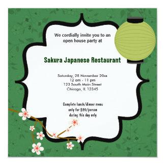 Casa abierta del sushi
