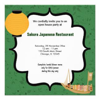 Casa abierta del sushi comunicados