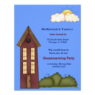 Casa abierta invitaciones personalizada