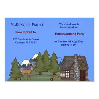 Casa abierta invitación 12,7 x 17,8 cm