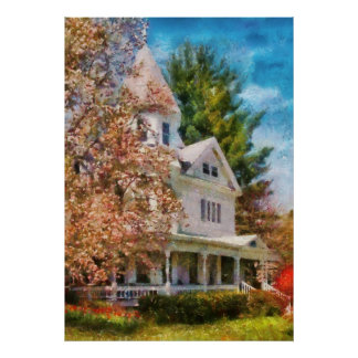 Casa - ajuste para una reina póster