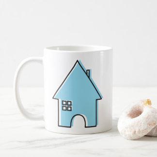 Casa (azul) taza de café