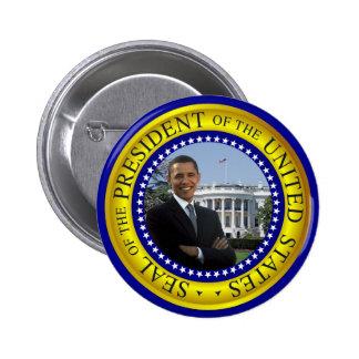 Casa Blanca de Obama - botón presidencial del sell