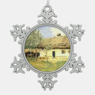 Casa campesina ucraniana de Ilya Repin- Adorno