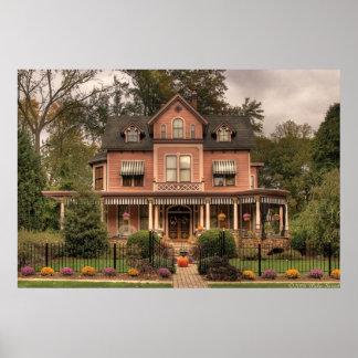 Casa - casa de muñecas de vida póster