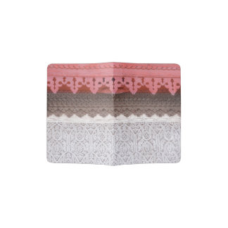Casa coralina rosada portapasaportes