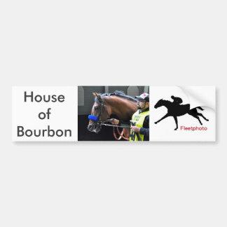 Casa de Borbón Pegatina Para Coche