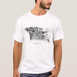 Casa de campo de los alces camiseta