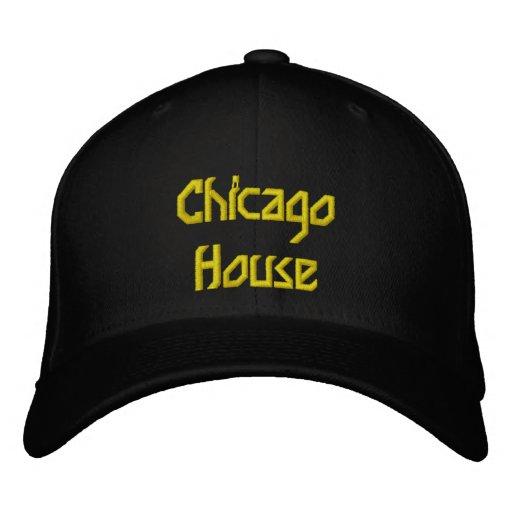 Casa de Chicago Gorra Bordada