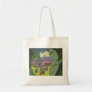 Casa de Ernst Kirchner- Violett, montaña Nevado Bolsa