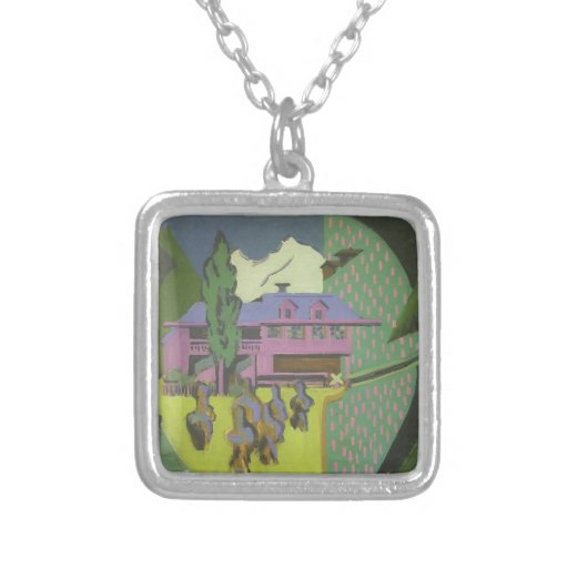 Casa de Ernst Kirchner- Violett, montaña Nevado Pendiente Personalizado