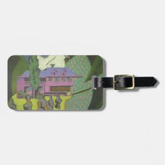 Casa de Ernst Kirchner- Violett, montaña Nevado Etiquetas Bolsas
