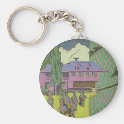 Casa de Ernst Kirchner- Violett, montaña Nevado Llavero
