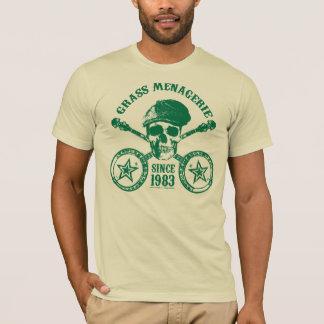 Casa de fieras de la hierba (verde) camiseta
