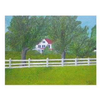 Casa de la granja del col - Purcellville, VA Postales