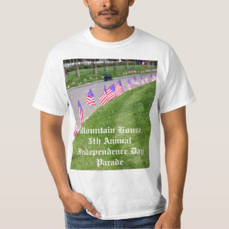 Casa de la montaña el 4 de julio camisas