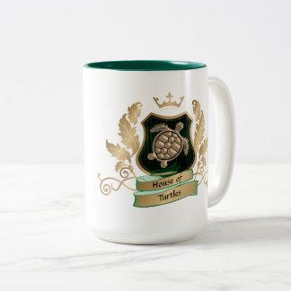 Casa de las tazas del diseño del escudo de las