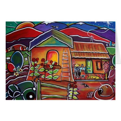 Casa De Los Abuelos Tarjetón