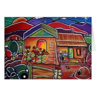 Casa De Los Abuelos Tarjeta De Felicitación