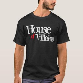 Casa de los malvados (rojos) camiseta