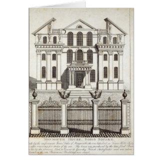 Casa de Monmouth, cuadrado de Soho Felicitaciones