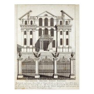 Casa de Monmouth, cuadrado de Soho Postales