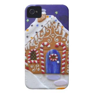 Casa de pan de jengibre carcasa para iPhone 4 de Case-Mate