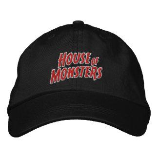 Casa del gorra ajustable de los monstruos gorra de beisbol