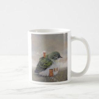 Casa del pájaro taza
