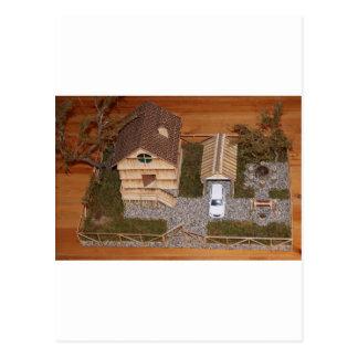 casa del pueblo postal
