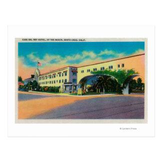 Casa Del Rey Hotel en la playa, Santa Cruz Postal